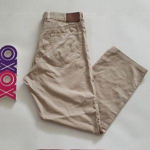 ERMENEGILDO ZEGNA khaki pants